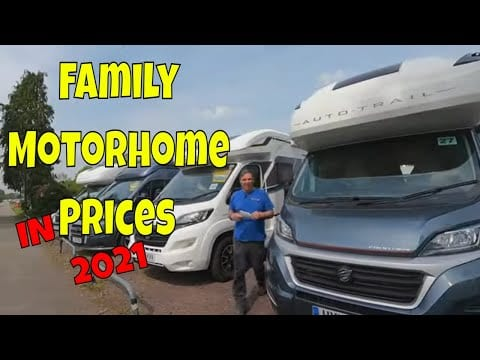 Used Family Motorhome Costs When Buying New